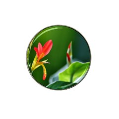 Lily 1 Golf Ball Marker 4 Pack (for Hat Clip)