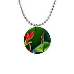 Lily 1 Button Necklace