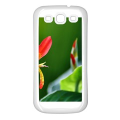 Lily 1 Samsung Galaxy S3 Back Case (white)