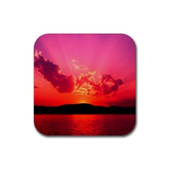 Sunset Drink Coaster (square)