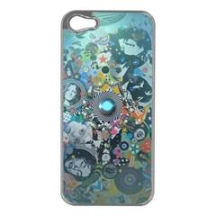 Led Zeppelin III Digital Art Apple iPhone 5 Case (Silver)