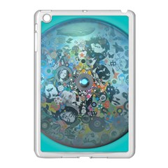 Led Zeppelin III Digital Art Apple iPad Mini Case (White)