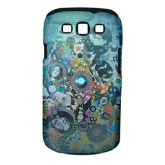 Led Zeppelin III Digital Art Samsung Galaxy S III Classic Hardshell Case (PC+Silicone)