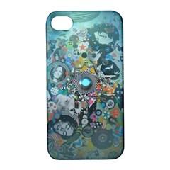 Led Zeppelin Iii Digital Art Apple Iphone 4/4s Hardshell Case With Stand