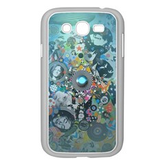 Led Zeppelin III Digital Art Samsung Galaxy Grand DUOS I9082 Case (White)