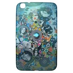 Led Zeppelin III Digital Art Samsung Galaxy Tab 3 (8 ) T3100 Hardshell Case