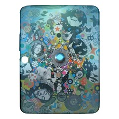Led Zeppelin III Digital Art Samsung Galaxy Tab 3 (10.1 ) P5200 Hardshell Case