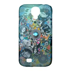Led Zeppelin III Digital Art Samsung Galaxy S4 Classic Hardshell Case (PC+Silicone)