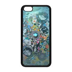 Led Zeppelin III Digital Art Apple iPhone 5C Seamless Case (Black)
