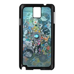 Led Zeppelin III Digital Art Samsung Galaxy Note 3 N9005 Case (Black)