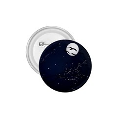 Night Birds And Full Moon 1 75  Button