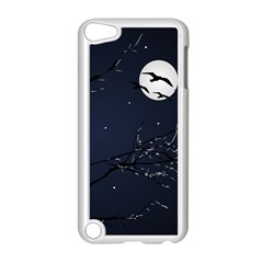 Night Birds And Full Moon Apple Ipod Touch 5 Case (white)