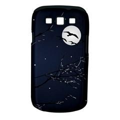 Night Birds and Full Moon Samsung Galaxy S III Classic Hardshell Case (PC+Silicone)