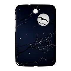 Night Birds and Full Moon Samsung Galaxy Note 8.0 N5100 Hardshell Case