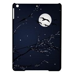 Night Birds And Full Moon Apple Ipad Air Hardshell Case