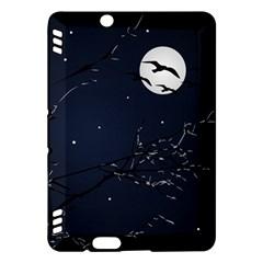 Night Birds and Full Moon Kindle Fire HDX 7  Hardshell Case