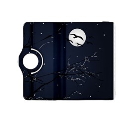 Night Birds and Full Moon Kindle Fire HDX 8.9  Flip 360 Case