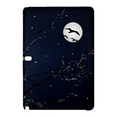 Night Birds and Full Moon Samsung Galaxy Tab Pro 12.2 Hardshell Case