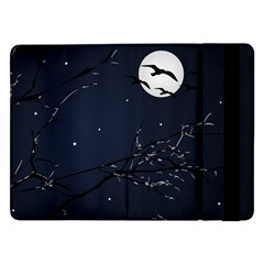 Night Birds and Full Moon Samsung Galaxy Tab Pro 12.2  Flip Case