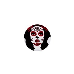 Day Of The Dead 1  Mini Button Magnet