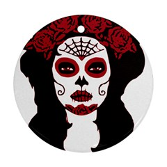 Day Of The Dead Round Ornament