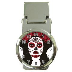 Day Of The Dead Money Clip with Watch