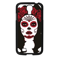 Day Of The Dead Samsung Galaxy S4 I9500/ I9505 Case (Black)