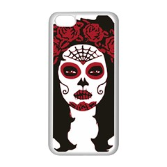 Day Of The Dead Apple iPhone 5C Seamless Case (White)