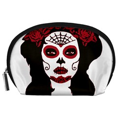 Day Of The Dead Accessory Pouch (Large)