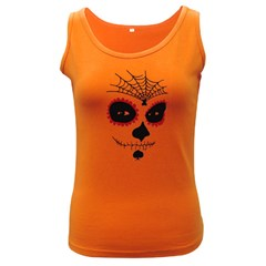 Day Of The Dead Women s Tank Top (Dark Colored)