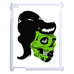 Day Of The Dead Apple iPad 2 Case (White)