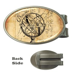 Discover The World Money Clip (oval)