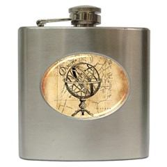 Discover The World Hip Flask