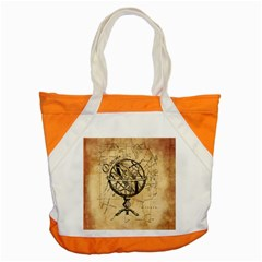 Discover The World Accent Tote Bag