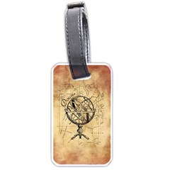 Discover The World Luggage Tag (Two Sides)
