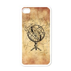 Discover The World Apple Iphone 4 Case (white)