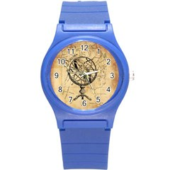 Discover The World Plastic Sport Watch (small)