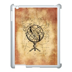 Discover The World Apple iPad 3/4 Case (White)