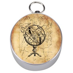 Discover The World Silver Compass
