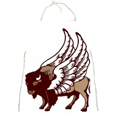 Winged Buffalo Apron