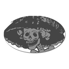 Day Of The Dead Magnet (Oval)