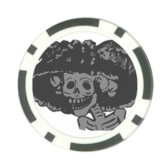 Day Of The Dead Poker Chip