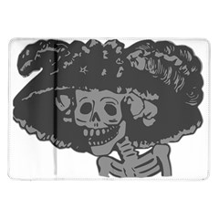 Day Of The Dead Samsung Galaxy Tab 10.1  P7500 Flip Case