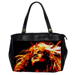 Golden God Oversize Office Handbag (one Side)