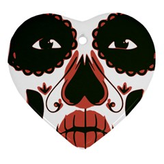 Day Of The Dead Heart Ornament