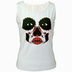 Day Of The Dead Women s Tank Top (White)