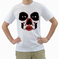 Day Of The Dead Men s T-Shirt (White)