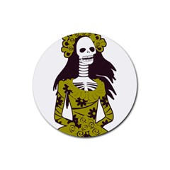Day Of The Dead Drink Coaster (Round)