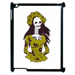Day Of The Dead Apple iPad 2 Case (Black)