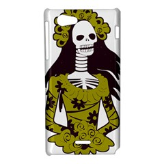 Day Of The Dead Sony Xperia J Hardshell Case